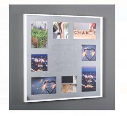 Tablou - Oglinda foto - 8 fotografii - 45x45cm