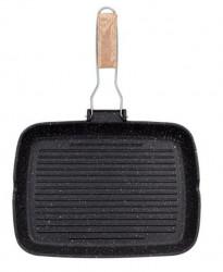 Tigaie tip grill antiaderenta 35x25 cm