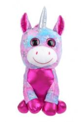 Unicorn de plus , ochi slipici, 40 cm