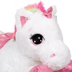 Unicorn de plus Rainbow, 100 cm