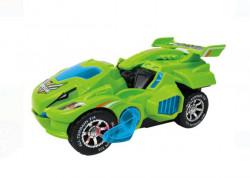 Vehicul care se transforma - cu sunet si lumini, 21x9x11 cm