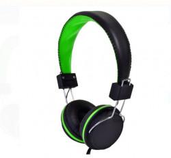 Casti audio - verde/negru