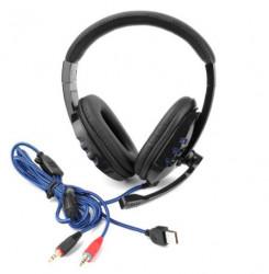 Casti - microfon cu filtru incorporat de reducere a zgomotului si reglare a volumului