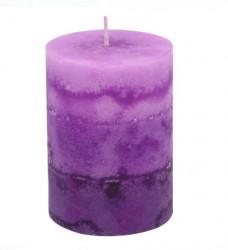 Coloana Lumânare parfumata Violet Liliac - Lavandă - 6,8x9,5 cm