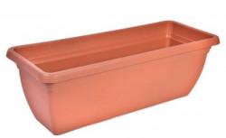 Jardiniera din plastic culoare teracota - 12 litri