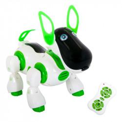 Jucarie catel robot Robodog, lumini si sunete, telecomanda, 33 x 16 x 23,5 cm