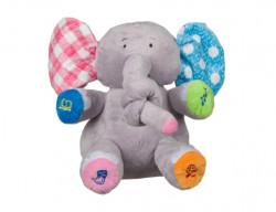 Jucarie Elefantul Trompica vorbeste si se misca, 30 cm, +3 ani