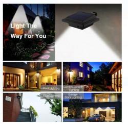 Lanterna solara cu LED cu senzor de miscare 13x13 cm