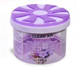 Odorizant camera aromatic sub formă de gel cu aromă de lavandă.