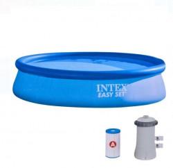 Piscină Easy Set cu filtru 3,96x0,84 m - Intex