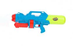 Pistol cu apa albastru