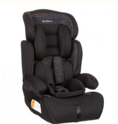 Scaun auto pentru copii, Negru - Gri, 41x42x64 cm