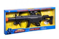Arma de jucarie politie, plastic