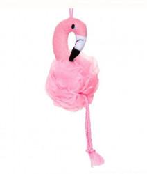 Burete de baie Flamingo roz