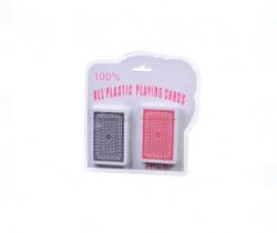 Carti de joc din plastic - 2 seturi