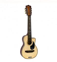 Chitara spaniola, plastic - metal, 68,5x21,5x6 cm