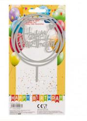 Decoratiune pentru tort Happy Birthday