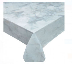 Fata de masa din plastic cu model marmura 180x120 cm