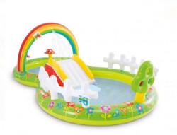 Loc de joaca cu piscină cu tobogan 2.90x1.80x1.04 m - Intex