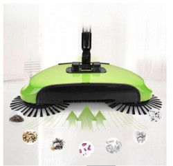Matura rotativa 3 in 1, Magic Broom, Verde