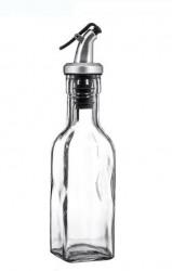 Recipient de sticlă pentru oțet cu capac de siguranță 160 ml.