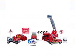 Set de vehicule și accesorii pentru stingerea incendiilor