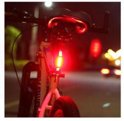 Stop frana pentru biciclete roșu deschis