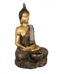 Suport lumanare Buddha - 16x12x29 cm