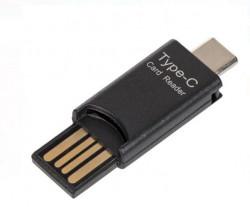 Adaptor tip C - Cititor de carduri USB