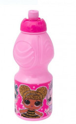 Bidon apa pentru copii cu design Top LOL 400ml