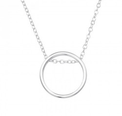 Colier Argint 925, Model Cerc