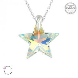 Colier Swarovski Star, Argint 925