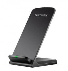 Incarcator wireless 10W Dual Coils, Incarcare rapida pentru dispozitive compatibile Qi, Iphone, Samsung, Huawei
