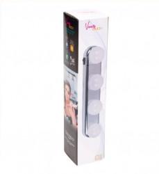 Lampa LED pentru oglinda - 4 LED 30x6x7 cm