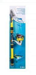 Lanseta telescopica de pescuit 2,40 m