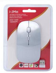 Mouse optic fără fir Silver 800/1200/1600 dpi