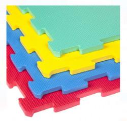Puzzle de protecție Podea colorată 63x63 cm (4 bucăți)