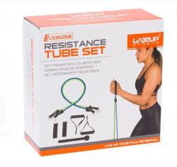Set de benzi pentru exerciții de rezistență - 8 buc.