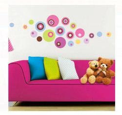 Sticker de perete CIRCLES - 50x32