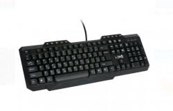 Tastatura gaming, taste LED retroiluminate, 45x26x2,1 cm
