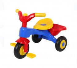 Tricicletă Baby - Colorat cu coș