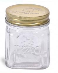 Borcan din sticlă cu capac 260 ml