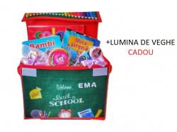 Cutie de depozitare Back to school pentru copii