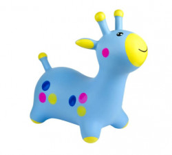 Jucarie gonflabila pentru copii, model girafa tip hop hop, 66x28x55 cm