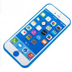 Telefon mobil albastru cu sunet