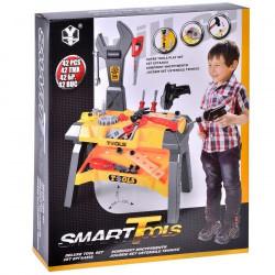 Banc de lucru pentru copii - SMART TOOLS, 51 x 71 cm