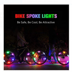 Lumina pentru roata de bicicletă LED Colorată de 12,5 cm