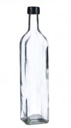 Recipient din sticlă pentru ulei cu capac ce se infileteaza 750 ml