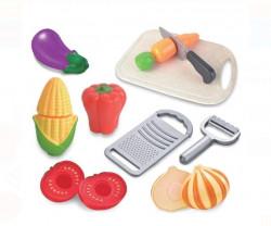 Set accesorii bucatarie pentru copii - Legume