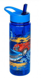 Bidon apa pentru copii cu design masini 650ml